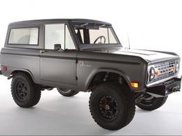 Sema Show 2011 : Ford Bronco Icon, du tuning néo-rétro poussé à son paroxysme