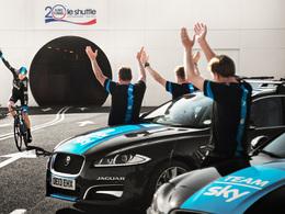 Jaguar et Froome : débarquement anglais par l'Eurotunnel