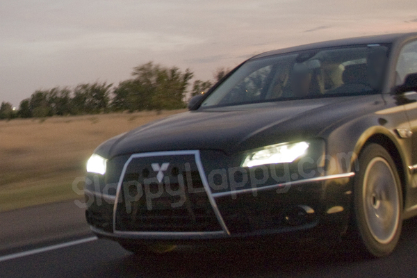 La future Audi A8 se prend pour une Mitsubishi pourtant c'est bien elle!