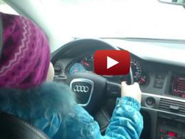 A 8 ans, elle conduit à 100 km/h: la vidéo fait scandale en Russie
