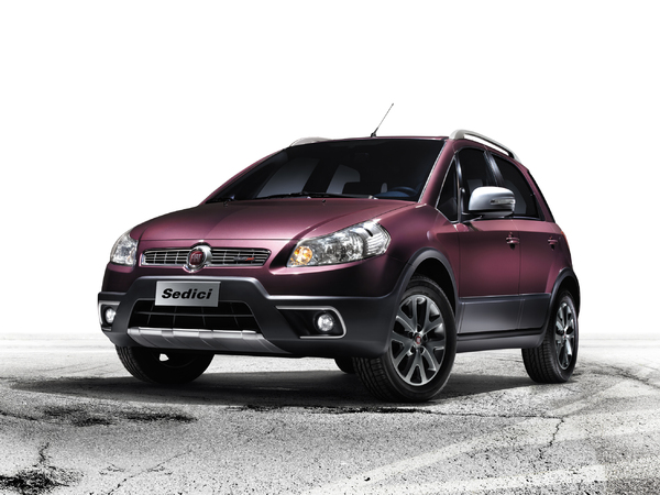 Fiat Sedici restylé : timide mise à jour