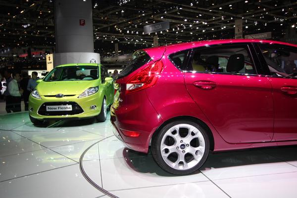 Genève 2008 Live : Ford Fiesta : mondiale mais pas moche !