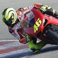 """Moto GP - Rossi s'est testé à Misano avec une 1198: """"J'ai très mal et peu de forces"""" »"""