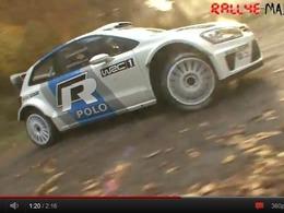 [vidéo] Premiers essais pour la VW Polo WRC