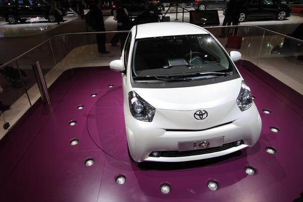 Genève 2008 Live : Toyota IQ, une 3+1 sans bagages