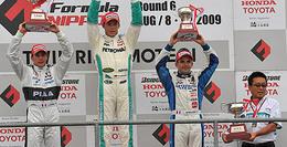 Formula Nippon/Motegi: Lotterer devance Duval et Tréluyer