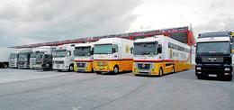 F1 GP d'Europe : les camions de Renault sont à Valence