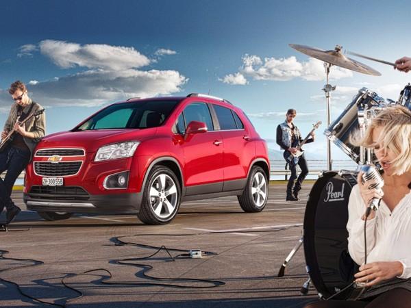 Nouveau Chevrolet Trax: à partir de 17990 euros