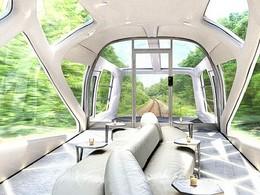 Japon : un train très haut de gamme dessiné par l'ex designer de Ferrari