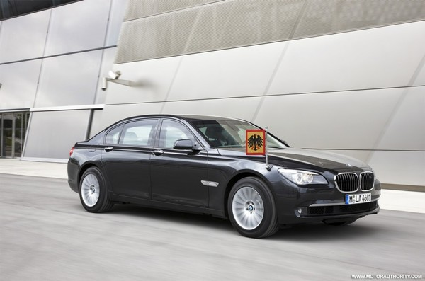 BMW Serie 7 High Security : elle n'a peur de rien