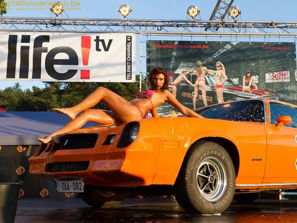 Le temptation car wash au salon de l 39 rotisme for Salon de l erotisme a metz