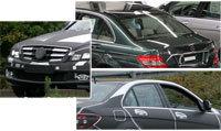 Future Mercedes Classe C: débusquée !