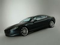 L'Aston Martin Rapide assemblée à l'étranger