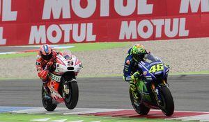 MotoGP - Assen J.3 Rossi: «je peux enfin piloter comme je veux»