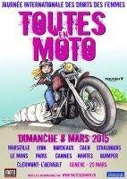 """Calendrier : le rendez-vous de """"Toutes en Moto"""" 2015"""