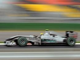 Mercedes GP ne boit plus la tasse