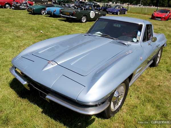 Photos du jour : Chevrolet Corvette C2 Sting Ray (Le Mans)