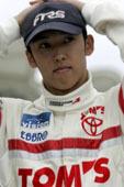 Kazuki Nakajima, pilote essayeur pour Williams Toyota