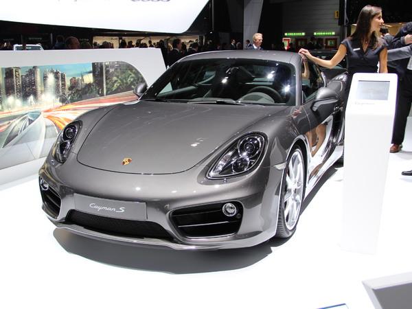 Vidéo en direct du salon de Genève - Porsche Cayman : monsieur plus