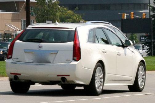 Cadillac CTS Sportwagon : elle circule déjà