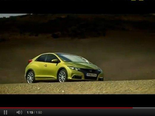 Nouvelle Honda Civic : découvrez-la en action et en vidéos