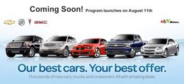 GM va vendre des voitures sur eBay