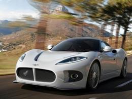 Salon de Genève 2013 - Le concept Spyker B6 en fuite