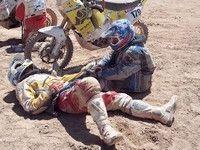 Dakar 2011 : Luis Belaustegui avec sa petite KTM est allé à Arica