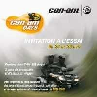 "Allez vite aux ""Can-Am Days"" du 26 au 28 avril"