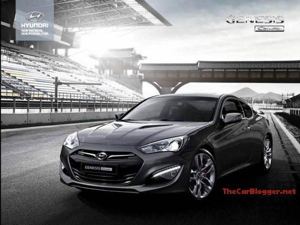 En avance :  Hyundai Genesis Coupé restylé, voire très restylé (màj)