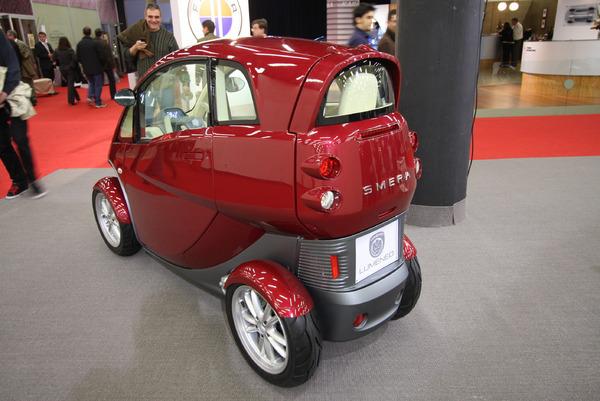 Genève 2008 en direct : Lumeneo Smera, l'auto-scooter !