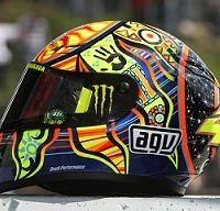 Moto GP: Les casques 2009 de l'élite sont servis