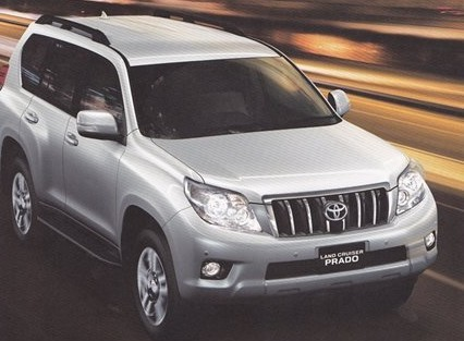 spyshot le nouveau toyota land cruiser trahi par sa brochure. Black Bedroom Furniture Sets. Home Design Ideas