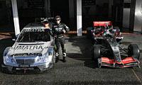 Valentino Rossi a testé une Mercedes Classe C de DTM