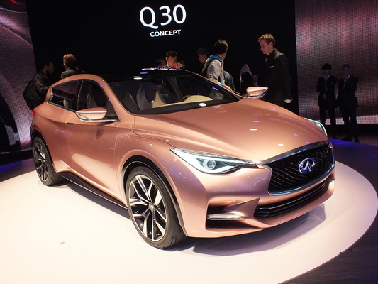 Infiniti produira ses futurs Q30 et QX30 chez Nissan en Angleterre