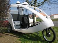 Société CycloVille : ses tricycles-taxi font sensation verte à Lille et aux Sables d'Olonne !
