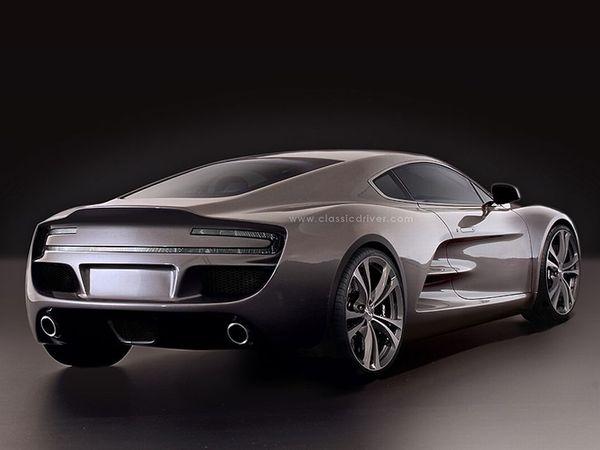 HBH Bulldog GT: une Aston Martin à moteur central