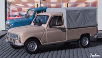 Miniature : 1/43ème - RENAULT 4 pick-up