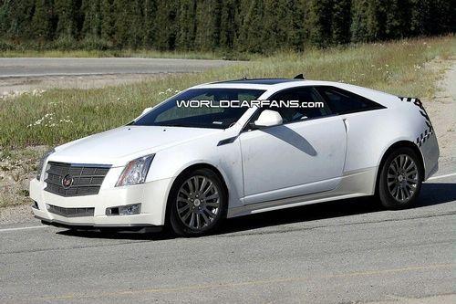 Le coupé Cadillac CTS arrive