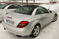 Mercedes SLK: bientôt panoramique