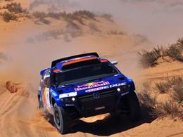 Bentley en sport auto: direction Le Dakar?