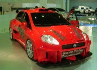 Fiat Grande Punto Radicale Concept : bestiale !