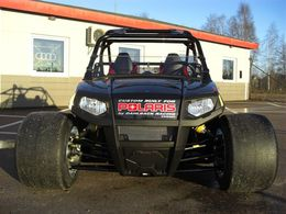 Dahlback Racing s'attaque au Polaris RZR (en y greffant un turbo!)