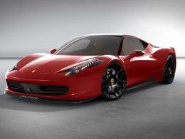 SEMA 2010 : Oakley Design amènera une Ferrari 458 Italia