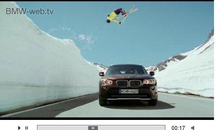 Nouveau BMW X1 : la première pub