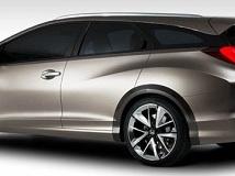 En direct de Genève 2013 - Avec sa Civic Tourer Concept, Honda veut faire le break