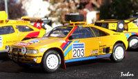 Miniature : 1/43ème - PEUGEOT 405 turbo 16