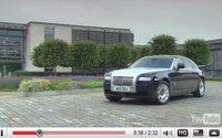 [vidéo] : découvrez la Rolls Royce Ghost avant Francfort