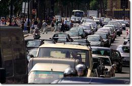 Il y a 150 ans déjà les premiers embouteillages
