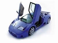 Les monstres routiers (partie 11): Bugatti EB110.